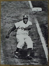 Photo Jackie Robinson,Dodgers,World Series,baseball,1955,  25 x 35 cm