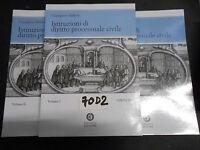 Balena ISTITUZIONI DI DIRITTO PROCESSUALE CIVILE 3 vol.(70 D 2)