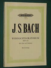 Partition BACH Weihnachts-Oratorium für Soli, Chor und Orchester BWV 248