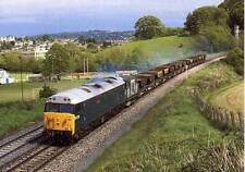Diesel Locomotive Class 50 50019 RAMILLIES Twerton Bath unused 1989 postcard