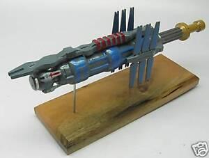 Space Station Earth Force Babylon-5 Spacecraft Desk Wood Model Big New