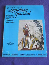 LAPIDARY JOURNAL - THE INDIAN CHIEF - July 1972 v 26 # 4