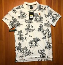 Nwt Nike Men's NikeCourt Tennis Polo Shirt Aq7729-133 Small Slim Rare! Skeleton