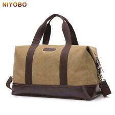 Canvas Travel Bag Casual Hand Luggage Travel Duffle Bag Big Tote Crossbody Bag