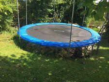 Garten-Trampolin Ampel24 360 cm, gebraucht, Sprungtuch 3 Jahre alt,