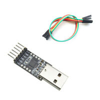 HOT black USB 2.0 to TTL UART 6PIN CP2102 Module Serial Converter T1 Free Cables