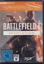 Battlefield 1 Revolution Edition - BF1 - PC DIGITAL DOWNLOAD VERSION Neu & OVP