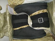 New UGG Australia Women's Cassidee Boots Black Size 7 stock #1007690
