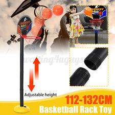 Adjustable Outdoor Indoor Basketball Hoop Stand Kids Game Sports Portable