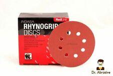 """125mm 5"""" Sanding Discs INDASA Sandpaper Pad fit Ryobi Bosch DeWalt Makita Metabo"""