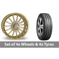 Monza Team Dynamics Aluminium Wheels with Tyres