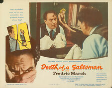 DEATH OF A SALESMAN - 1951 - LOBBY CARD - FREDRIC MARCH - CLAIRE CARLETON - RARE