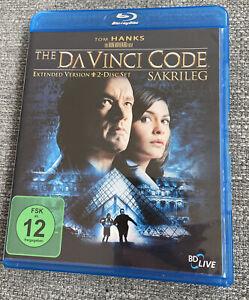 The Da Vinci Code - Sakrileg - Extended Version [BluRay Zustand sehr gut
