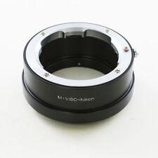 Leica Visoflex M mount Viso lens Objektivadapter für Nikon F Adapter D800 D500