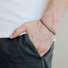 Rainbow Necklace Bracelet Lgbt Gay Gay Bracelet Trans Wrap-Around Bracelet