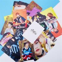 Kpop Stray Kids Polaroid Lomo Card Album Frosted HD Photocard Photograph 8pcs