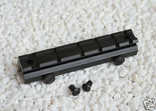 128mm 20mm Rail 6 Slot Riser Scope Mount Adapter Base For Hunting