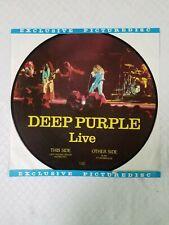"""DEEP PURPLE Live Lady Double Dealer/Burn 12"""" Picture Disc 33RPM STEMRA PD 83008"""