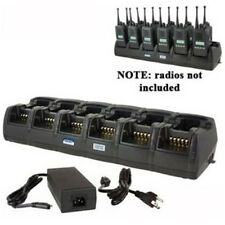 Power Products 12 Unit Gang Charger for Vertex VX231 EVX531 EVX534 and More