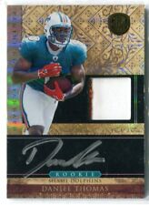 2011 Gold Standard Daniel Thomas RPA PATCH RELIC AUTO RC #270 221/525 DOLPHINS