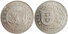 PORTUGAL , 200 ESCUDOS 1543 - 1993 , TANEGASHIMA , JAPAN , SUPERB