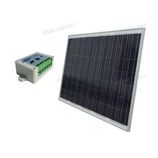 250W 250Watt Poly Solar Panel Kit 24V w/ 15A Controller for Camping Boat Caravan