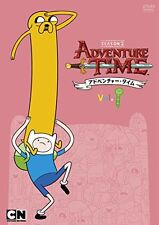 ANIMATION-ADVENTURE TIME SEASON 2 VOL.1-JAPAN DVD G35
