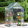 Heritage Garden PVC Greenhouse Walk-In 6 Shelf Plastic Shelter Grow Plant House