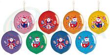 Circus Clowns Punch Balloons 50 pc per pack. PREMIUM QUALITY