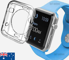 Apple Watch Soft Silicon Case Cover iWatch Series 1, 2, 3 UltraThin 42MM Clear