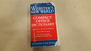 WEBSTER NEW WORLD DICTIONARY