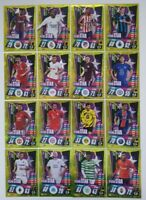2020/21 Match Attax UEFA Champions League - Full Set of 16 Rising Star cards