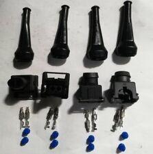 4x EV1 injector connector deka fits bosch fuel  2 pin