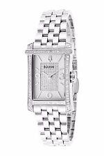 Bulova Women's 96R188 Winslow Quartz Diamonds 20mm Rectangle Bracelet Watch