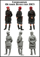 1/35 Scale Resin Figure Model Kit Commissioner (October Revolution 1917)EM-35156