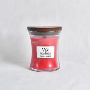 SALE - Wood Wick Candle -Radish & Rhubarb - 9.7oz