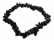 Bloodstone Gemstone chip bracelet