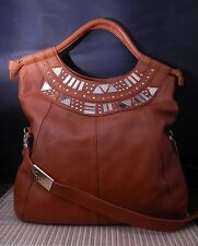 Foley + Corinna Iron Horse Leather Tote with Hardware Ret: $425.00 Christmas!