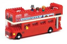 Nanoblock - London Tour Bus - micro-sized construction set