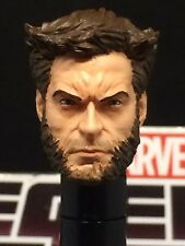 MARVEL LEGENDS PAINTED / FITTED MCU STRAIGHT FACE HUGH J. LOGAN 1:12 HEAD CAST