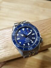 Orient Triton Blue Automatic 43mm Pre-owned with major upgrades - Diver Neptune