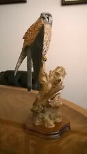 More details for wildtrack kestrel sculpture. made in scotland by a. hayman 1991