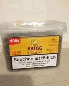 Brigg Regular 400 g Pfeifentabak   auch z. Stopfen geeignet