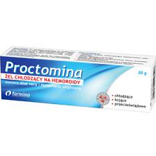 PROCTOMINA żel chłodzący na hemoroidy 30 g łagodzi podraznienia ból pieczenie