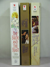 3 by Teresa Medeiros,2 signed by author,Bride&Beast,Charming Prince,Thief Hearts