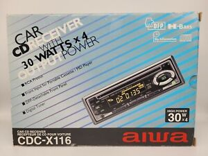 Aiwa CDC-X116 In Dash Stereo 1999 Brand New in Original Box! Extremely Rare 🔥🔥