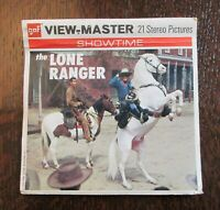 GAF View-Master The Lone Ranger 3 Reels & Booklets Viewmaster Showtime