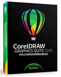CorelDRAW Graphics Suite 2019 Deutsch/ML Vollversionsbundle Download kein ABO