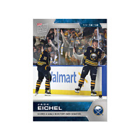 NHL TOPPS NOW wEEK 7 Jack Eichel Buffalo Sabers Scores 4 Goals in Victory