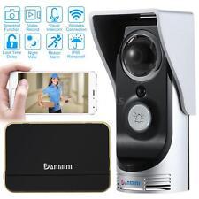 Wireless WiFi Visual Video Camera Intercom Door Phone Doorbell Rainproof EU P1Z5